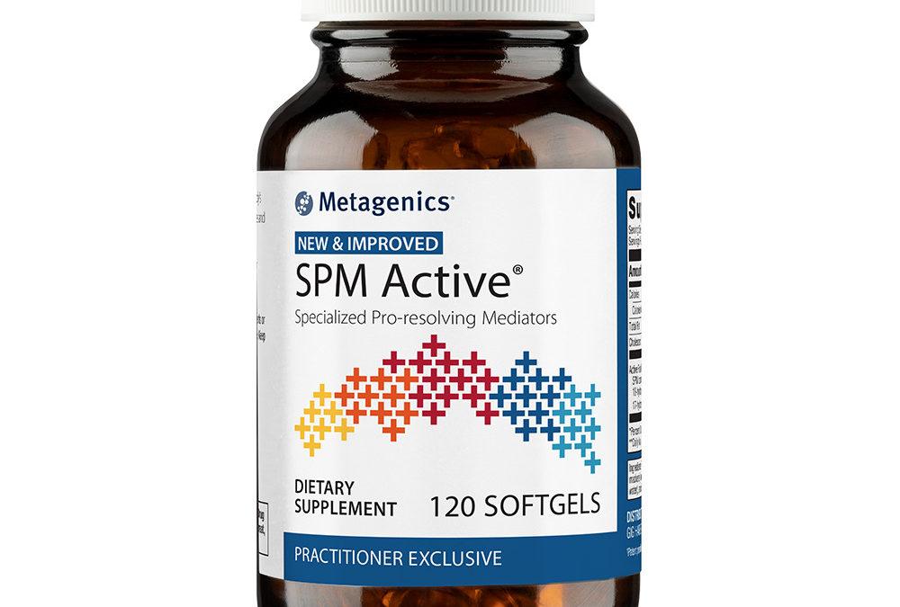 OmegaGenics SPM Active (120 softgels) Improved Formula by Metagenics