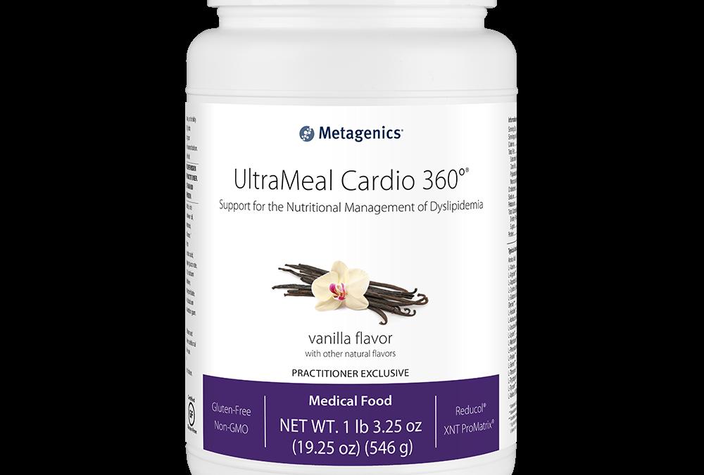 UltraMeal Cardio 360 (Vanilla Flavor) by Metagenics