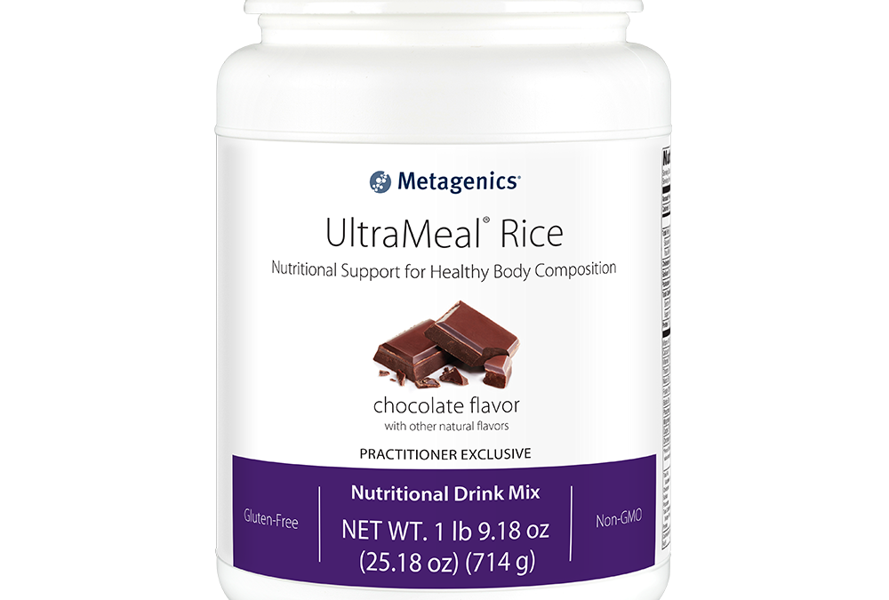 UltraMeal Rice (Chocolate Flavor) by Metagenics
