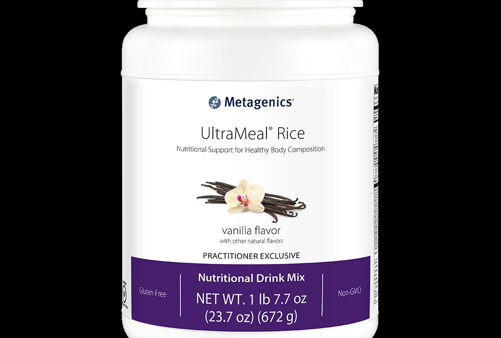 UltraMeal Rice (Vanilla Flavor)  by Metagenics