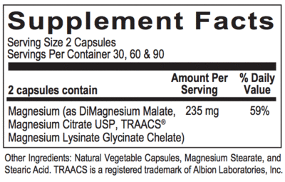 Chelated Magnesium (180 caps) - image chelated-magnesium-120-caps-supplement-facts on https://www.iprogressivemed.com