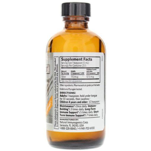 Argentyn 23 Silver Hydrosol (4oz) - image argentyn-23-professional-silver-hydrosol-4oz-8oz-supplement-facts-510x510 on https://www.iprogressivemed.com