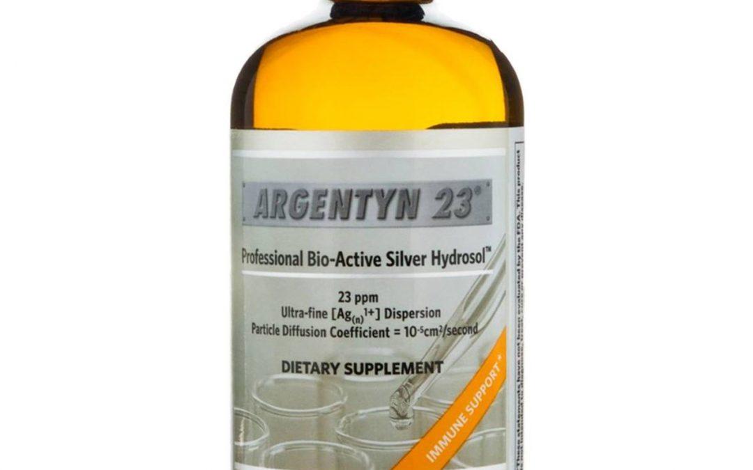 Argentyn 23 Bioactive Silver Hydrosol (8oz) Liquid