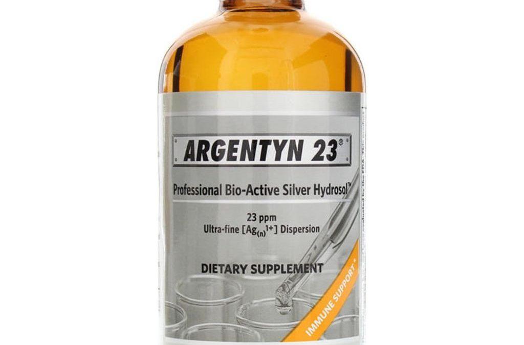 Argentyn 23 Bioactive Silver Hydrosol (16oz) Liquid