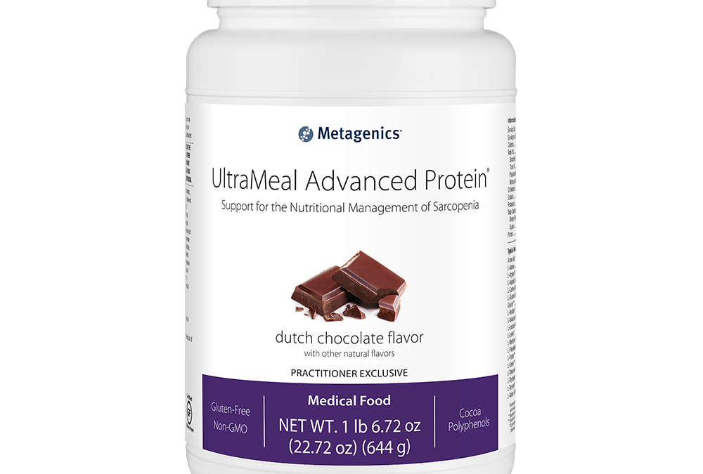 UltraMeal Advanced Protein Dutch Chocolate Flavor (14 servings) by Metagenics