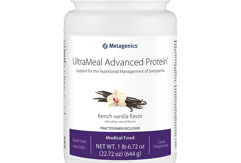 UltraMeal Advanced Protein French Vanilla Flavor (14 servings) by Metagenics