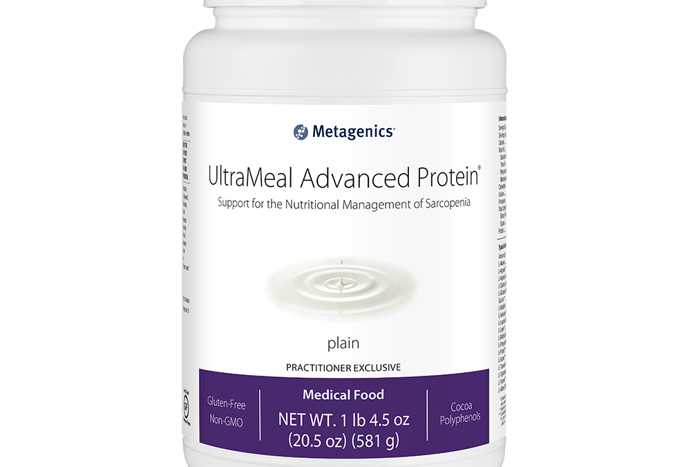 UltraMeal Advanced Protein Plain Flavor (14 servings) by Metagenics