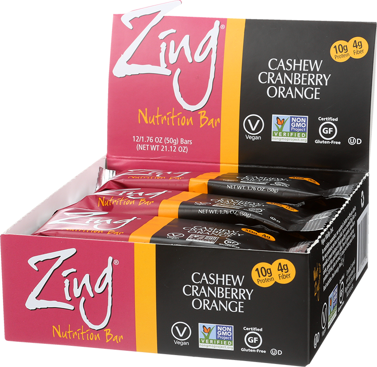 Zing Bars. Bar Dark Chocolate Hazelnut GF OZ. Kehe log in! log in! log in!