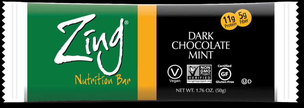 Zing Bars Chocolate Mint