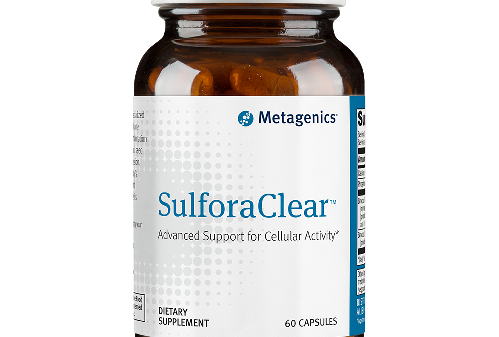 SulforaClear (60 caps) by Metagenics