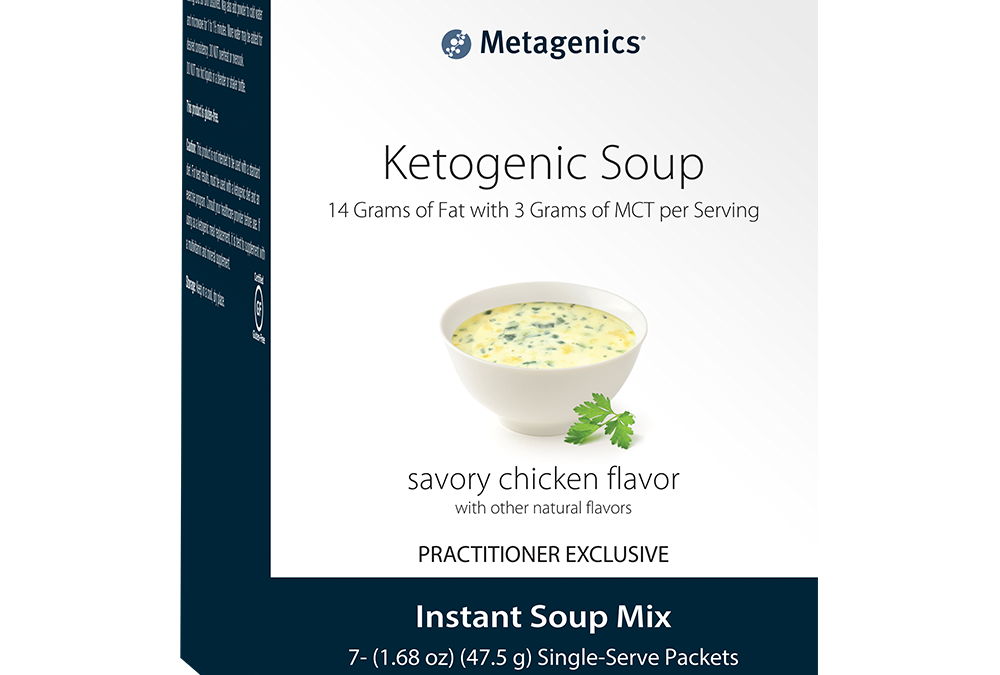 Ketogenic Soup Chicken Flavor (7 servings) by Metagenics