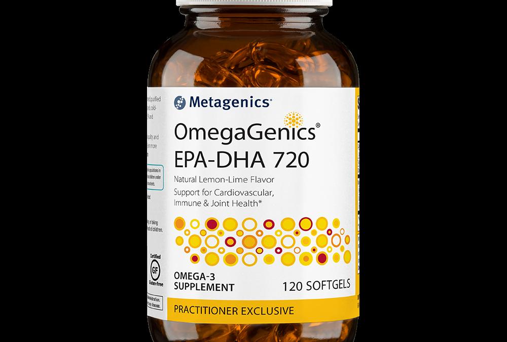 Omegagenics EPA-DHA 720 (120 softgels) by Metagenics