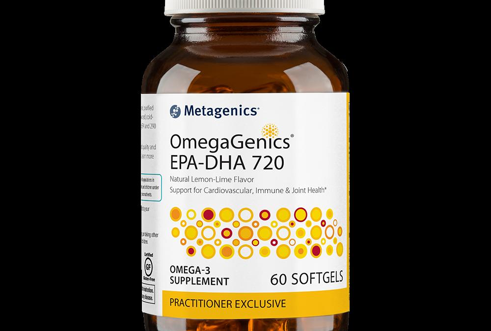 Omegagenics EPA-DHA 720 (60 softgels) by Metagenics