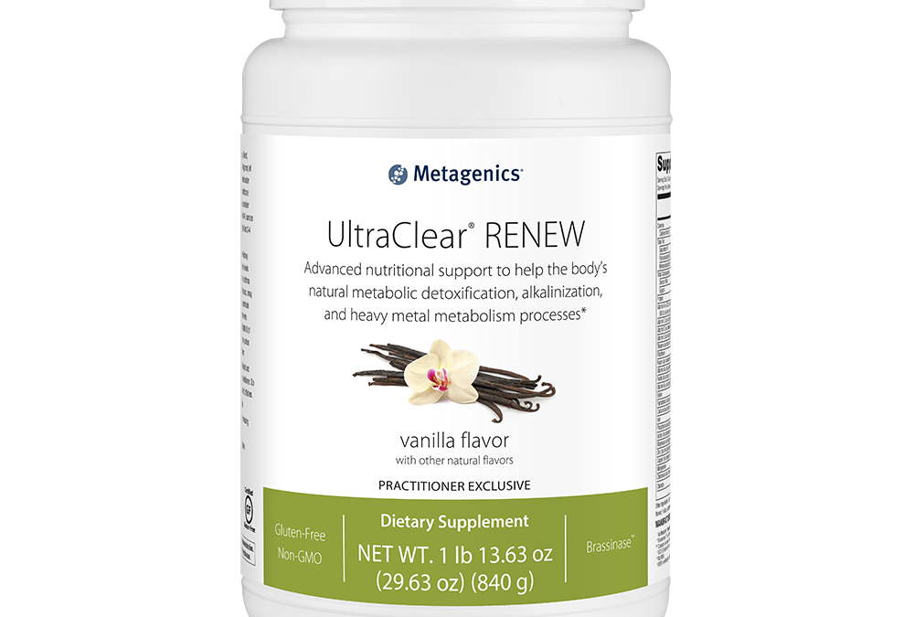 UltraClear RENEW vanilla flavor (840g) by Metagenics