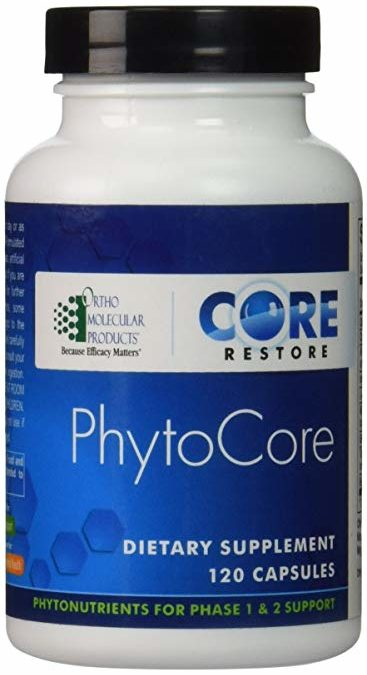 Phytocore for Detox (120 caps) by Orthomolecular