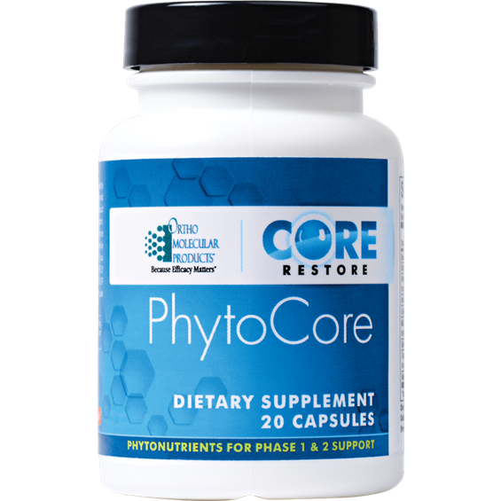 Phytocore for Detox (20 caps) by Orthomolecular