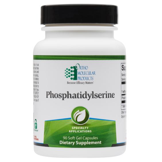 Phosphatidylserine (90 gelcaps) by Orthomolecular
