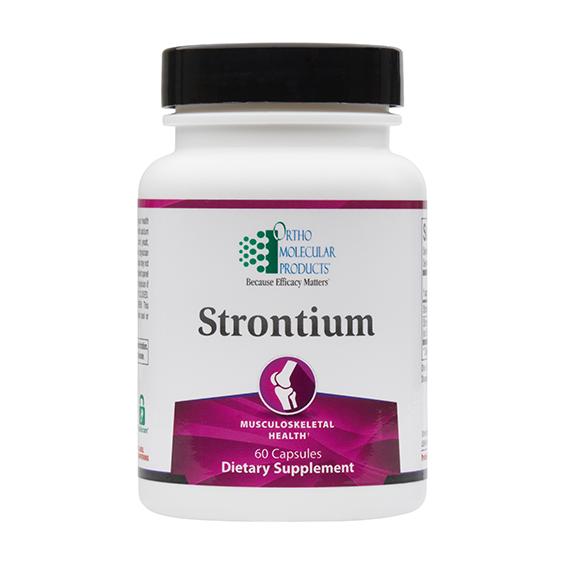 Strontium (60 caps) by Orthomolecular
