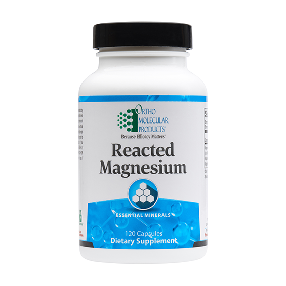 Reacted Magnesium (120 caps) by Orthomolecular