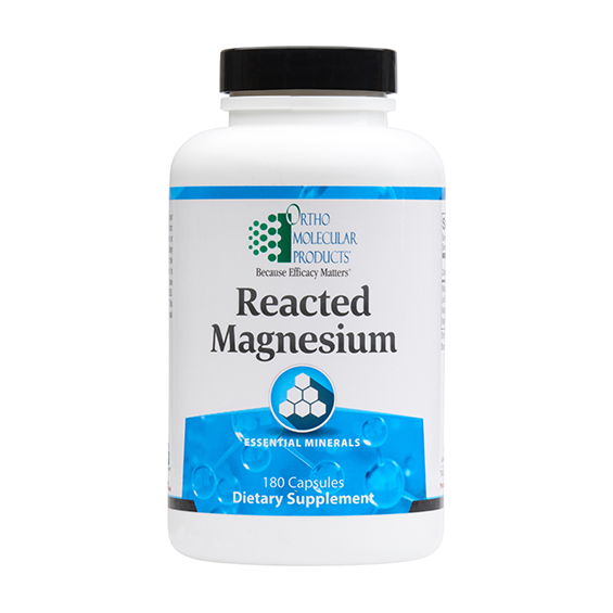 Reacted Magnesium (180 caps) by Orthomolecular