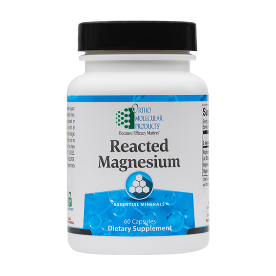 Reacted Magnesium (60 caps) by Orthomolecular