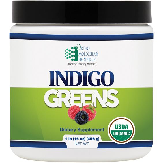 Indigo Greens (16oz powder) by Orthomolecular