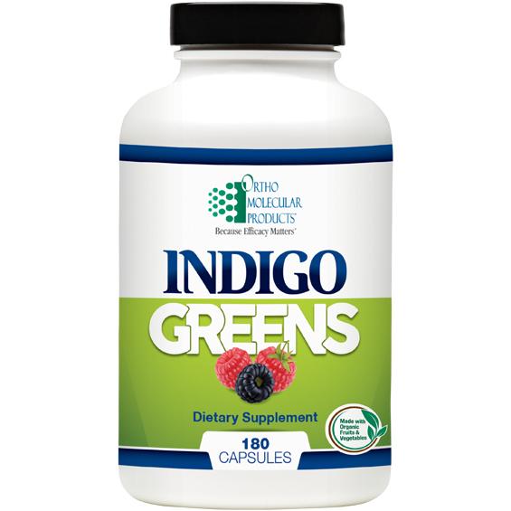 Indigo Greens (180 caps) by Orthomolecular