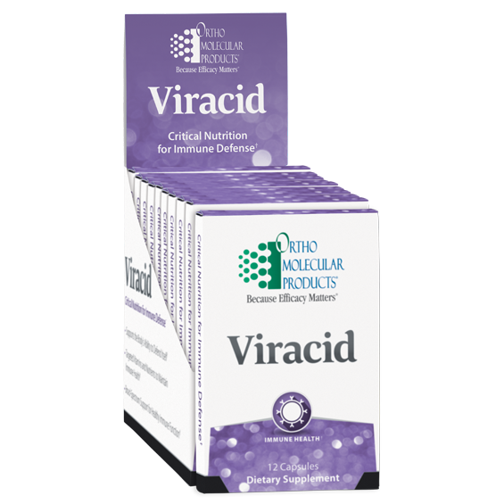 Viracid Blister Pack (12 caps) by Orthomolecular